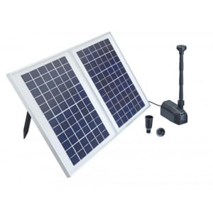 PondoSolar 1600 Solar Fountain Set