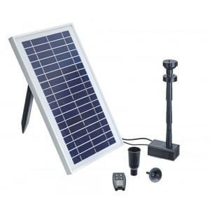 PondoSolar 600 Control Solar Fountain Set