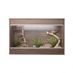 Repti-Home Vivarium Maxi Medium: Walnut