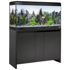 Roma 200 LED Aquarium & Cabinet Set - Black
