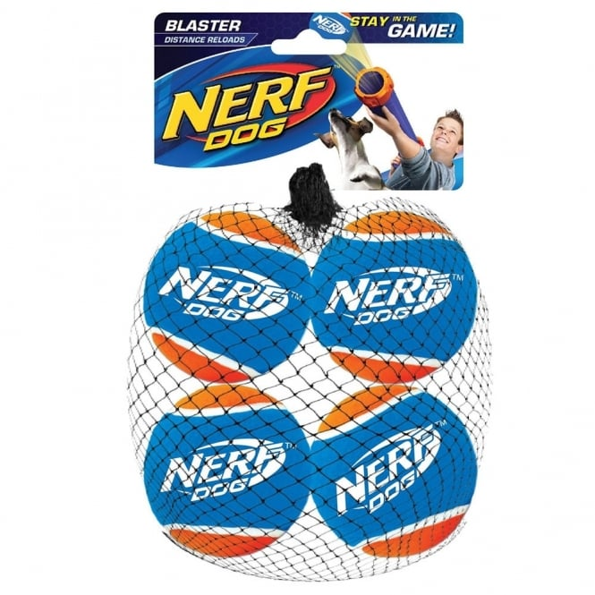 Tennis Ball Blaster Distance Balls 4pk