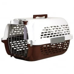 Voyageur Cat/Dog Carrier Brown/White